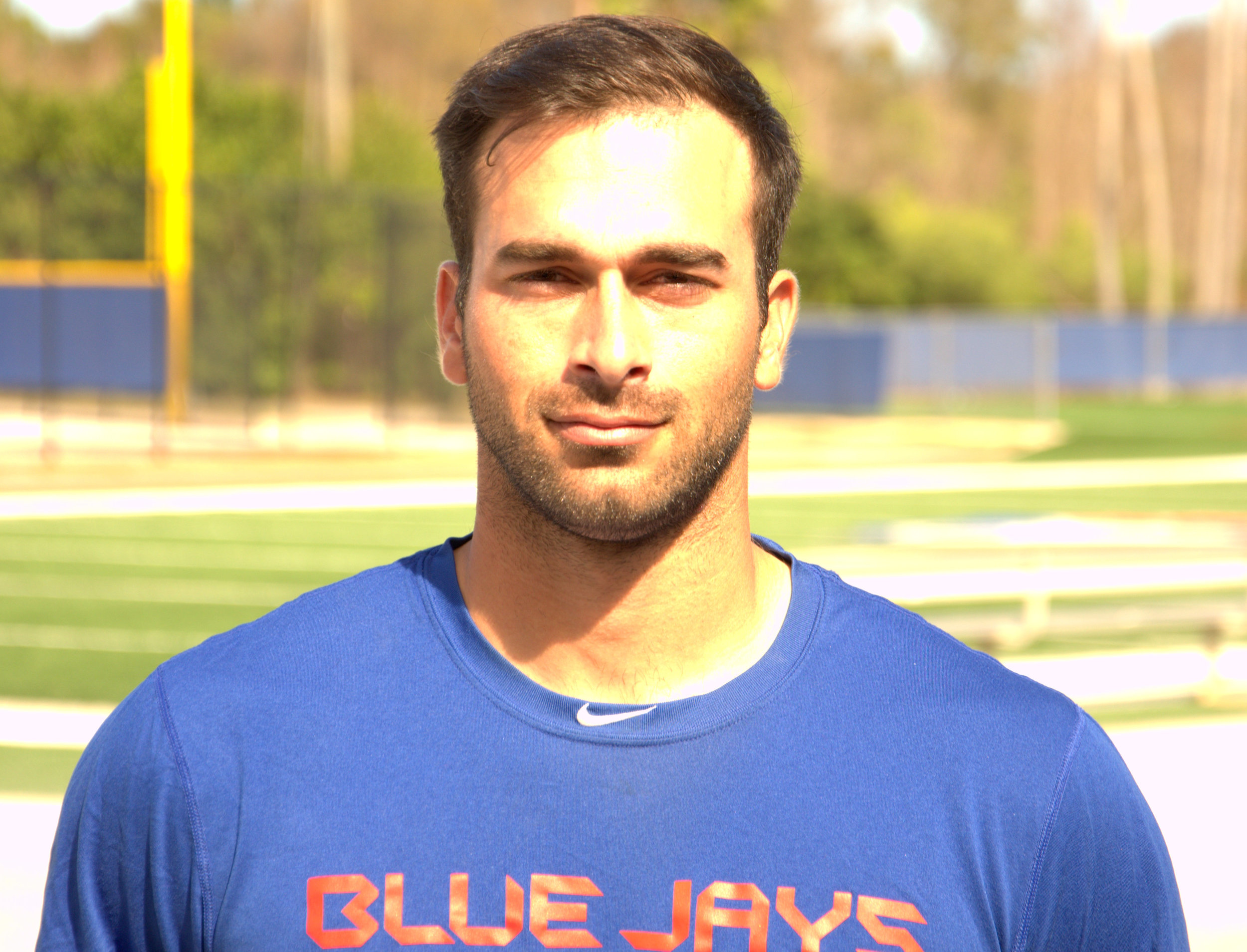 Jorge Saez pictured in Dunedin at Toronto Blue Jays minor league camp. Photo: Phil Jones