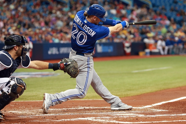 "Hitting ""THE BRINGER OF RAIN"" second will always be the right play for Blue Jays (Photo: TORONTO SUN)"