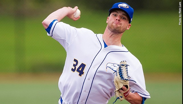 Tyler Gillies (London, Ont.) worked the final three innings for an old-timey save as the UBC Thunderbirds edged the Oregon Tech Hustlin' Owls 5-4. The win guaranteed home-field advantage for the NAIA West playoffs.