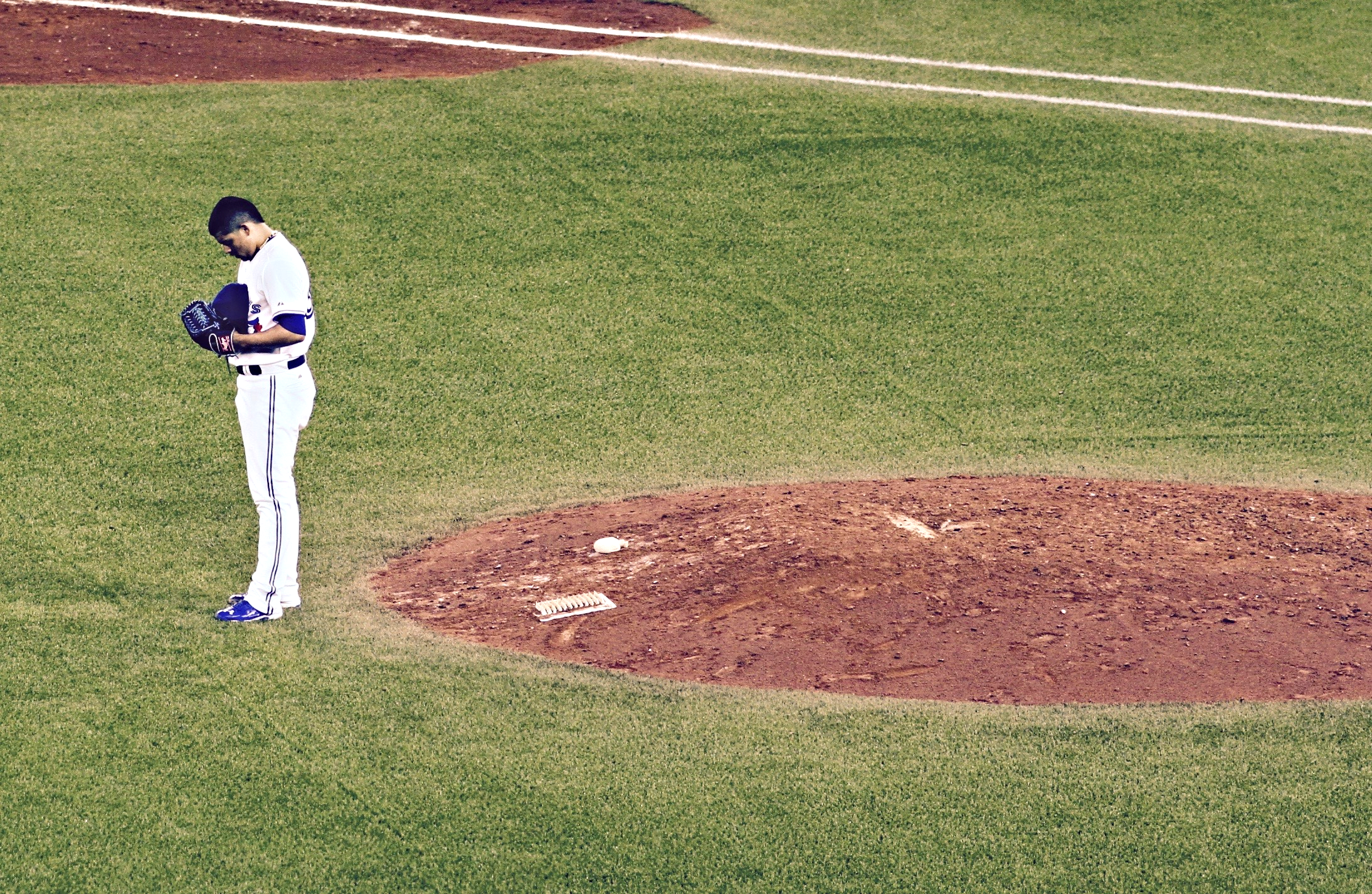 Like this time last season, fans are praying for a big few weeks from the Blue Jays (Photo: Tyler King)