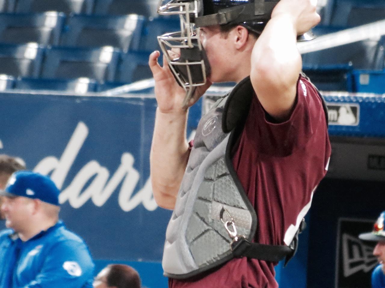 Baseball New Brunswick's C Max Grant (Fredericton, NB)