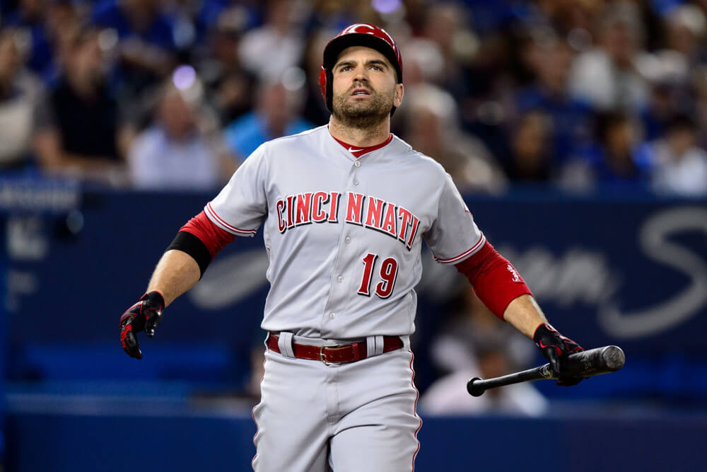 After the Cincinnati Reds were edged 5-3 by the San Francisco Giants Tuesday night, 1B Joey Votto (Etobicoke, Ont.) emailed to apologize to James Paxton, the Blue Jays, Toronto fans, the women and men across Canada that work so hard to promote and support Canadian baseball, for his comments to Tim Brown of Yahoo Sports.