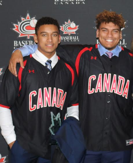 The Naylor brothers, Noah, first round to Cleveland and brother Josh, first round to Miami three years ago.The Indians gave Noah a $2,578,138 US signing bonus, while Josh earned $2.5 Million from the Marlins.