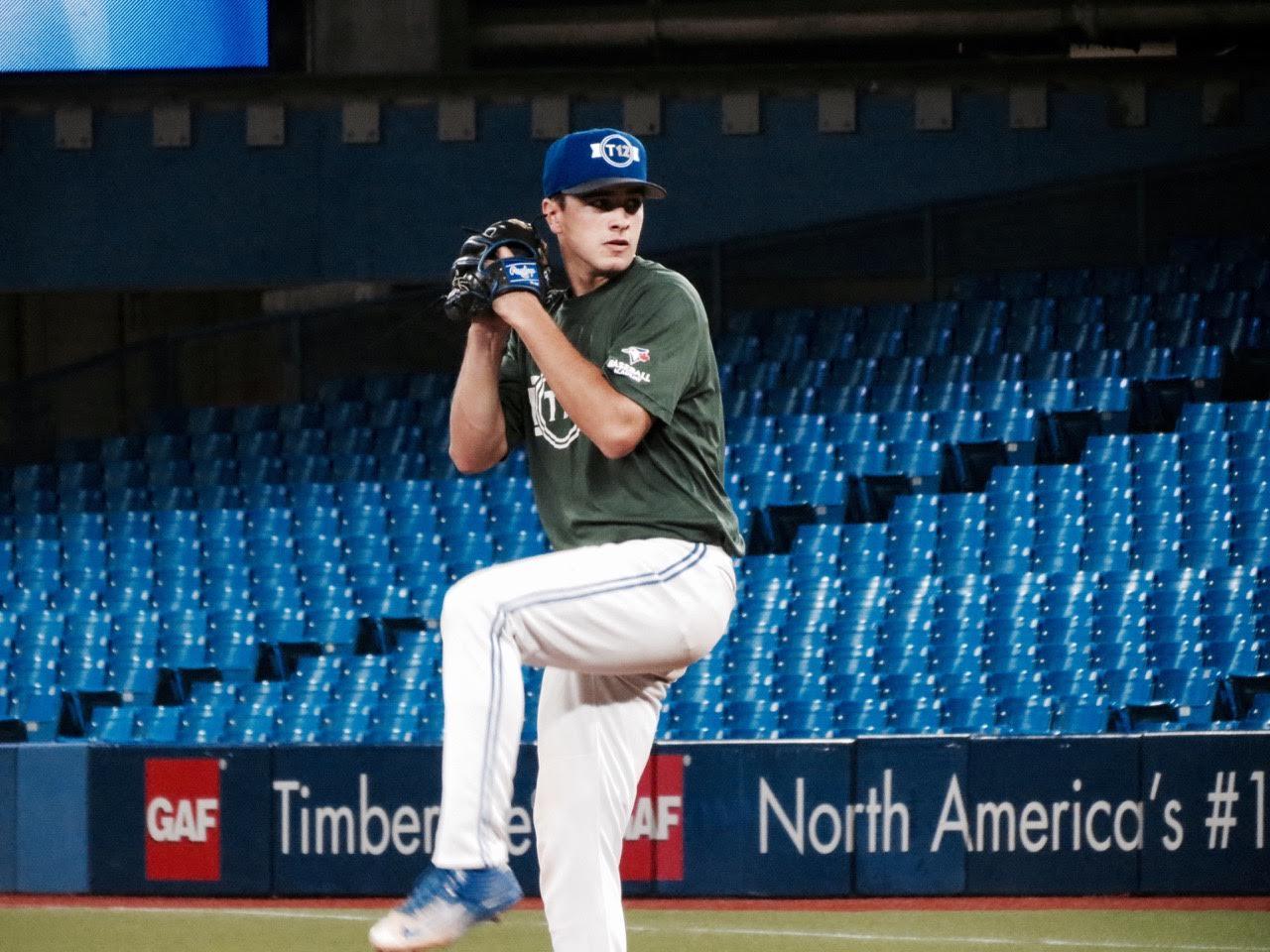 Ontario Blue Jays RHP Lucas Barry