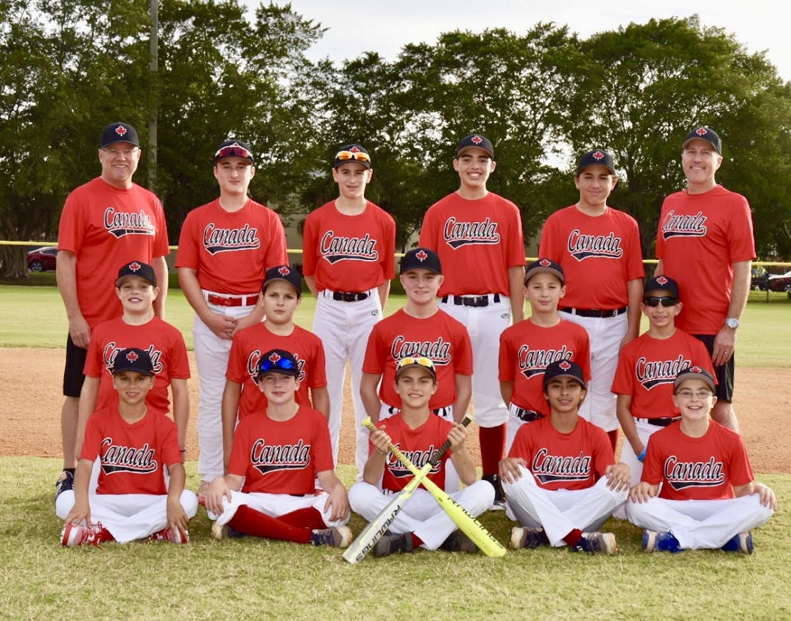 The Canuck 12U entry at Palm Beaches.