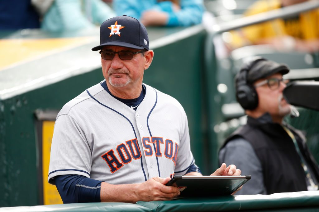 Former Houston Astros hitting coach Dave Hudgen has been named the Toronto Blue Jays' new bench coach.