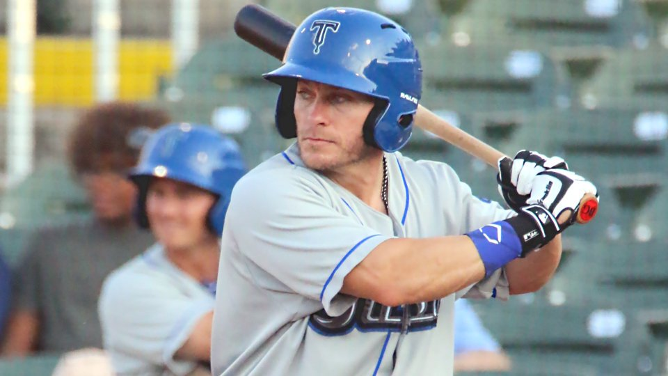 After belting 28 home runs for the independent Atlantic League's Lancaster Barnstormers in 2018, veteran outfielder Blake Gailen has signed with the Los Angeles Dodgers. This will be his second tenure in the Dodgers' organization. Photo Credit: Twitter