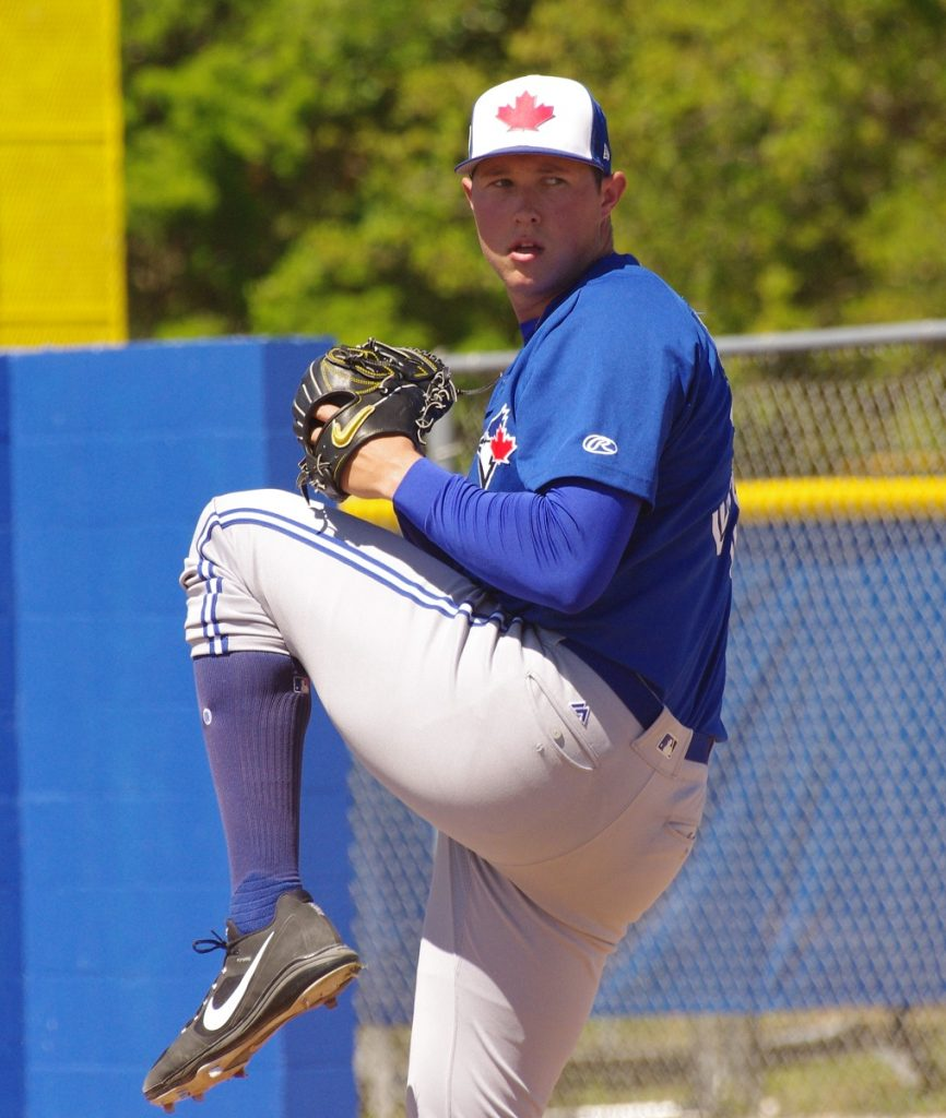 Right-hander Nate Pearson. Photo Credit: Jay Blue