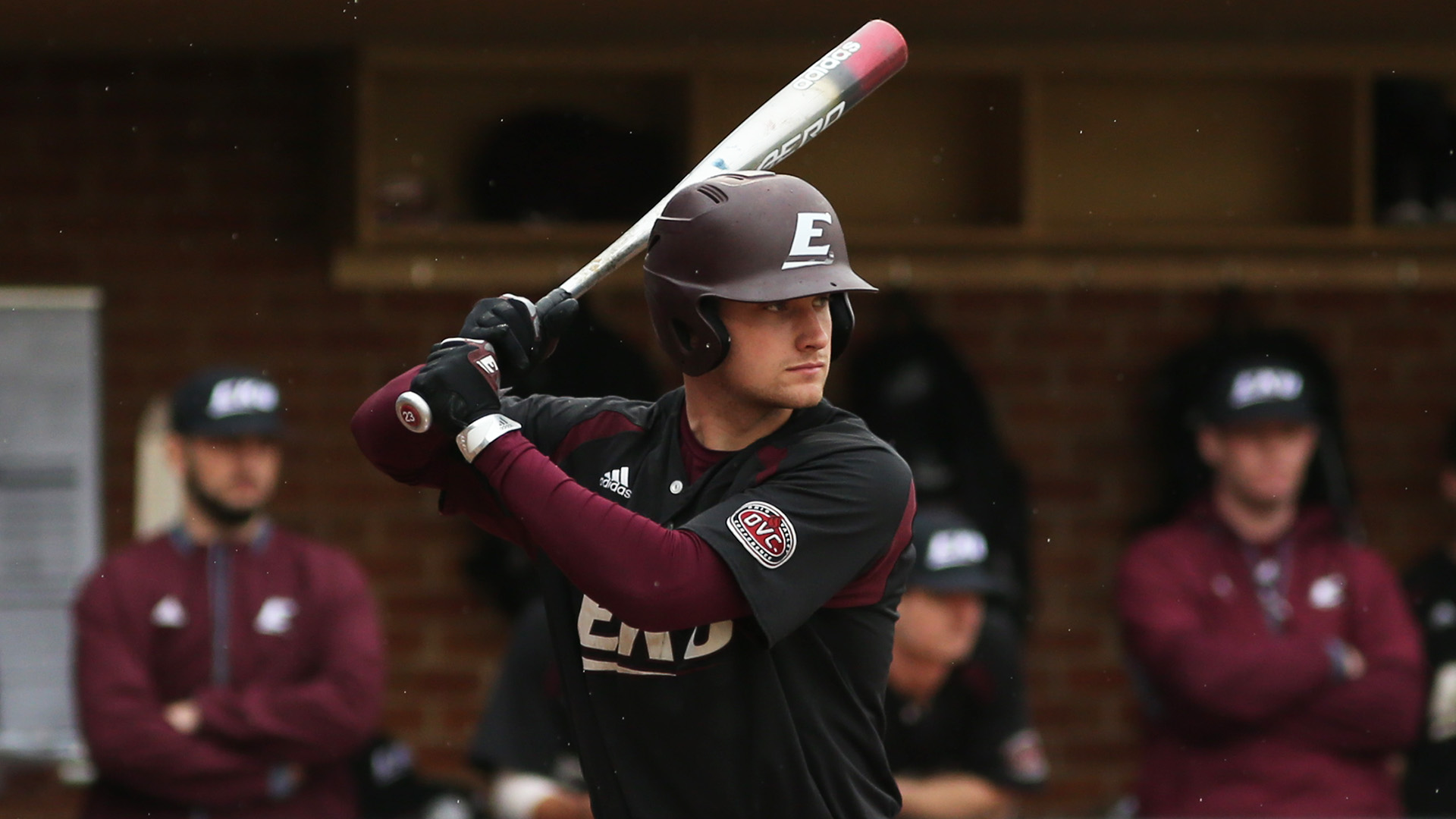 Ontario Blue Jays alum Nick Howie (Oakville, Ont.) had five hits for Eastern Kentucky in the past week. Photo: Eastern Kentucky University Athletics