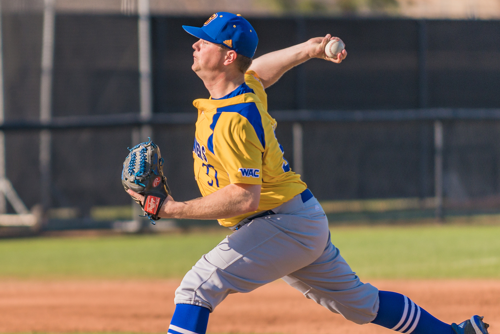 Victoria Eagles alum Ethan Skuija (Victoria, BC) tossed a complete game and struck out 11 for California State University Bakersfield and was named Western Athletic Conference Pitcher of the Week for his performance.