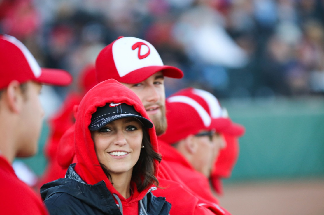 Okotoks Dawgs trainer Savannah Blakley has been with the club for eight years and she was there Feb. 2 to save a life. Photo: Amanda Fewer.