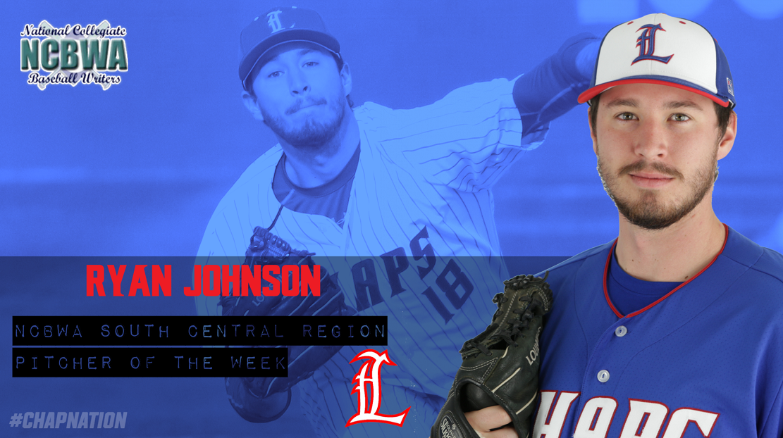 St.James A's LHP Ryan Johnson (Winnipeg, Man.) lowered his Lubbock Christian ERA to 1.31.