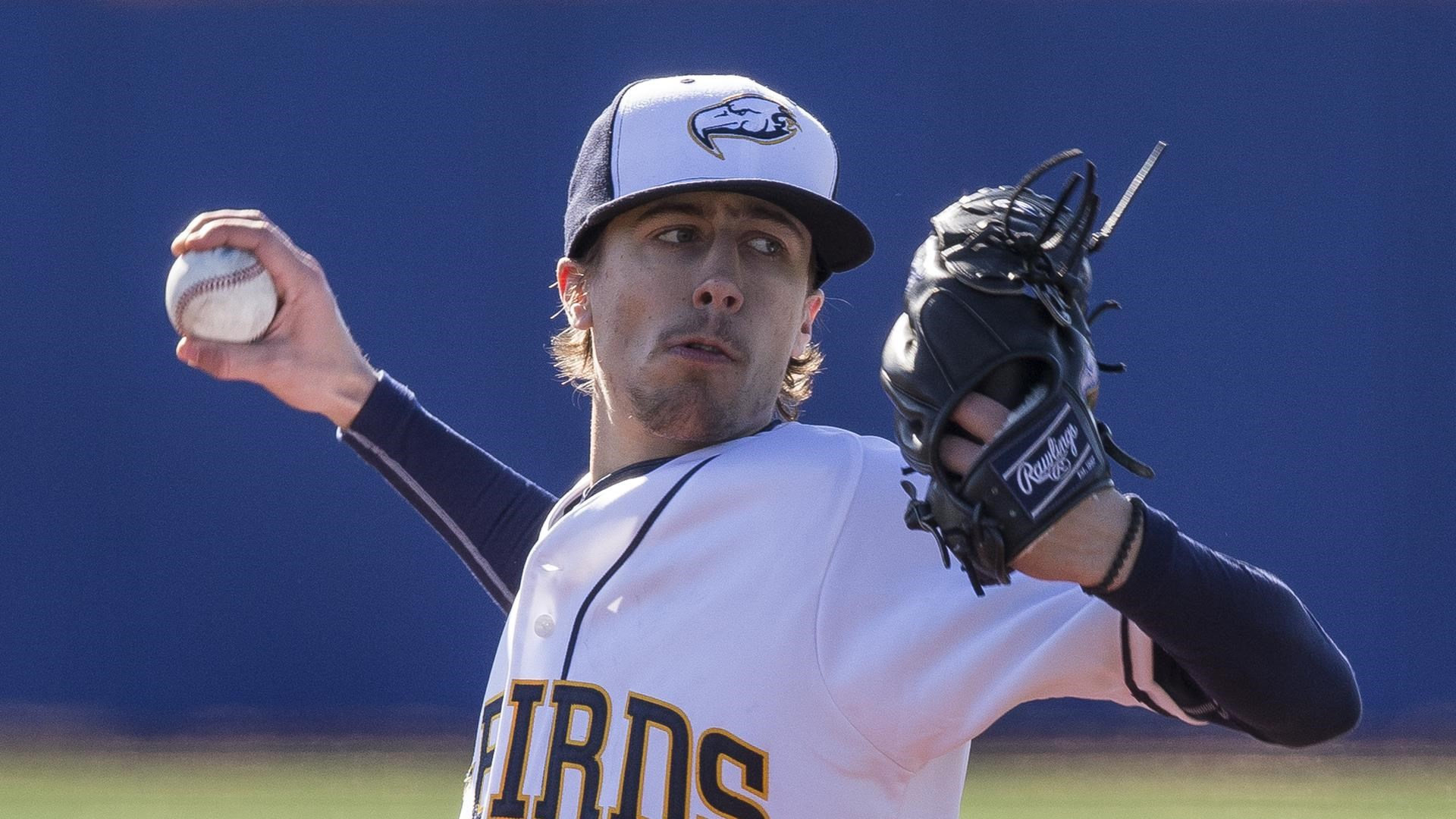 White Rock Tritons grad Barry Caine (Surrey, B.C.) tossed 3 2/3 scoreless innings in two appearances for the UBC Thunderbirds. Photo: UBC Athletics
