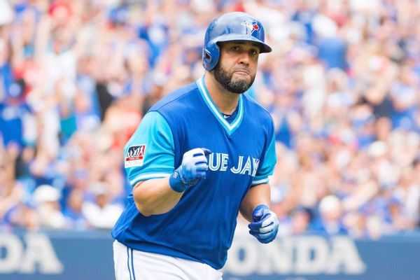 The Toronto Blue Jays have traded DH/1B Kendrys Morales to the Oakland A's.