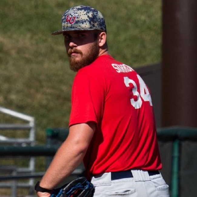 Former Tri-State Arsenal RHP Noah Skirrow (Stoney Creek, Ont.) picked up the win for the Liberty Flames.