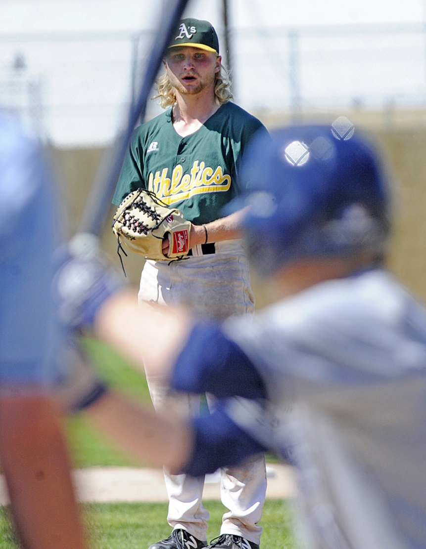 Okanagan Athletics RHP Keaton Mandryk (Kelowna, BC) allows just one earn run and struck out nine in six innings in his start for Southeastern Illinois.