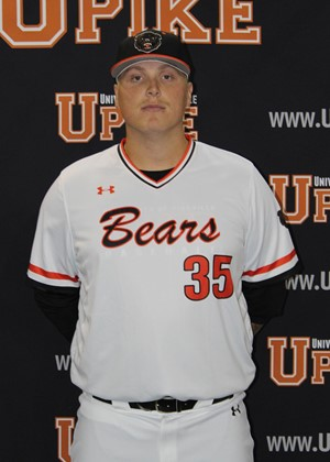 Ontario Blue Jays grad Brady Cappe (Waterford, Ont.) tossed a complete game shutout for the Pikeville Bears. Photo: UPike Athletics