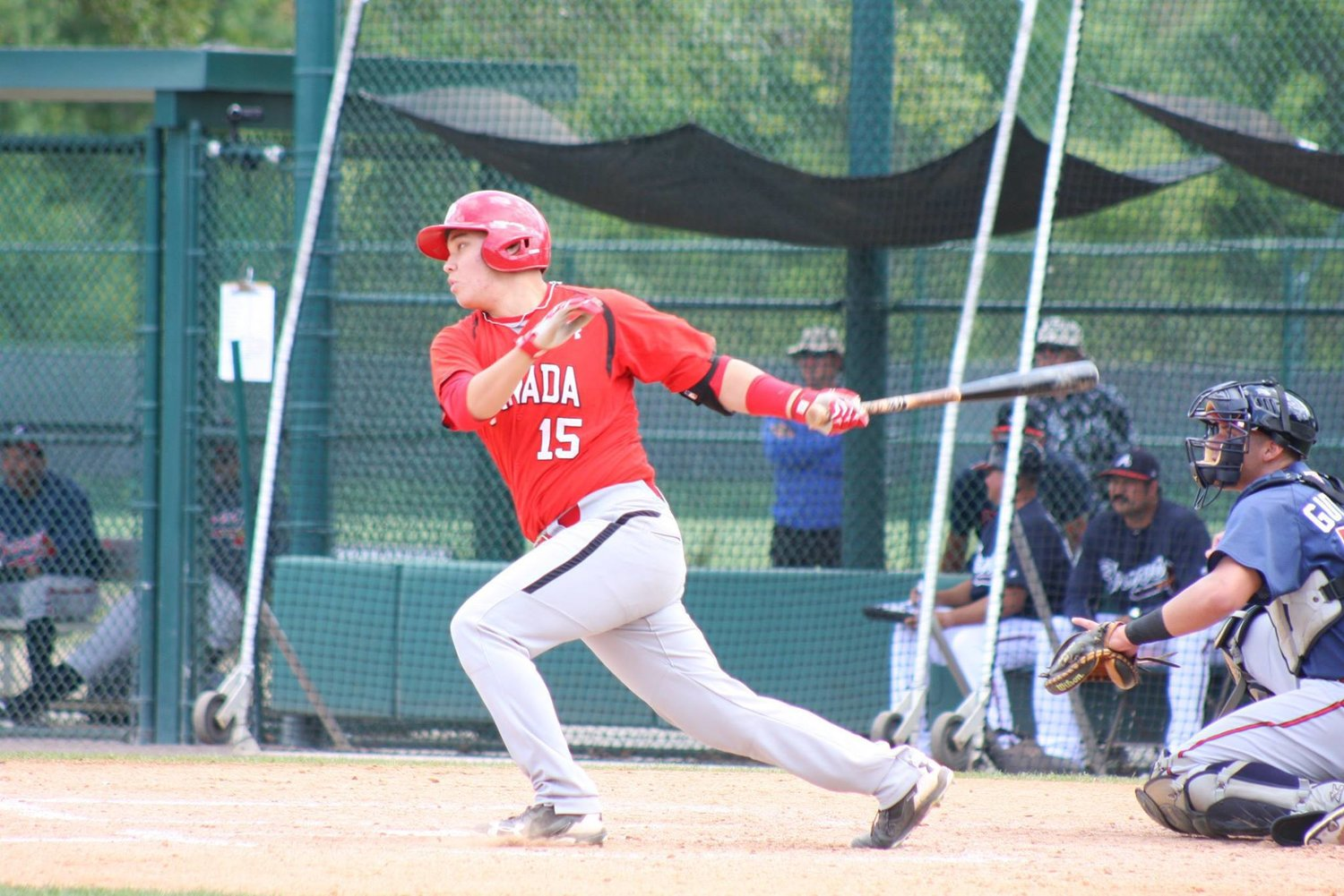 ABC and Junior National Team grad Archer Brookman (Point-Claire, Que.) had five hits for Seminole State during the past week. Photo: Baseball Canada