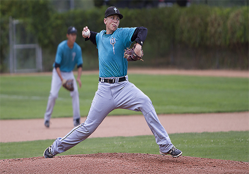 White Rock Tritons alum Keith Manby tossed a no-hitter for Miles Community College in their 1-0 win over Bismarck State.