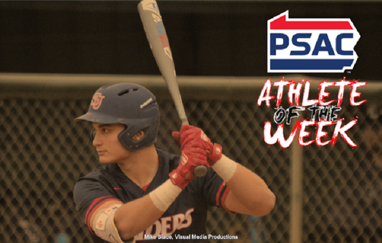 Toronto Mets grad Anthony Vavaroutsos (Toronto, Ont.) showcased his offensive side in five games for Shippensburg. He had three, three-hit games and 10 hits in total.