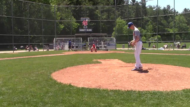 Toronto Mets alum Adam Parker (Toronto, Ont.) hurled seven scoreless innings to record a win for Jefferson College. Photo: YouTube