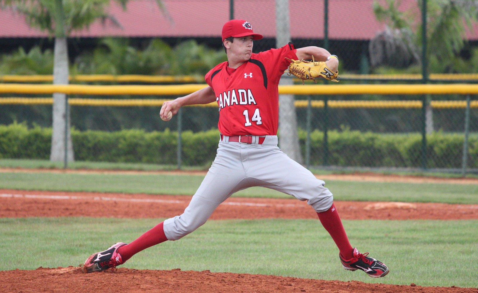 Junior National Team alum Cal Quantrill (Port Hope, Ont.) will make his major league debut with the San Diego Padres tonight. Photo: Baseball Canada
