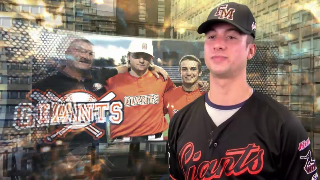 Fort McMurray Giants alum Zachary Koroneos (Toronto, Ont.) had three home runs and six RBIs and batted .412 in five games for Penn State Harrisburg. Photo: Fort McMurray Giants