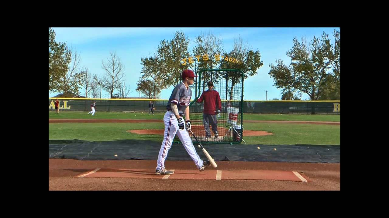Vauxhall Academy grad Blake Gallagher (Fredericton, N.B.) went 5-for-14 with three runs and four RBIs in four games for Colby Community College. Photo: YouTube