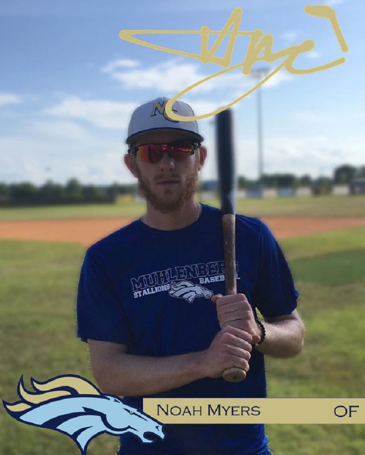 Noah Myers spent the summer of 2018 with the Muhlenberg County Stallions in the Ohio Valley League.