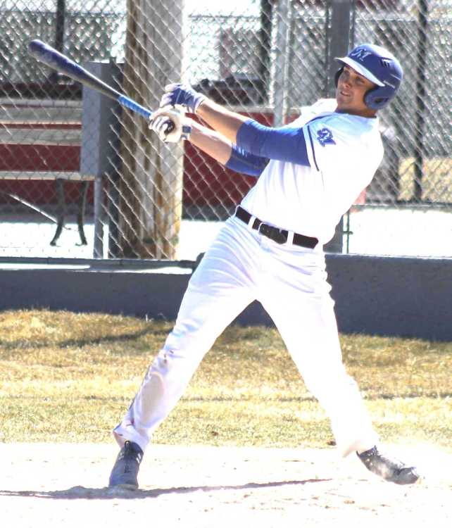 Dartmouth Arrows alum Jake Sanford (Cole Harbour, N.S.). batted .374 with 12 home runs in 53 games for McCook Community College in 2018. Photo: Brent Cobb/ McCook Community College