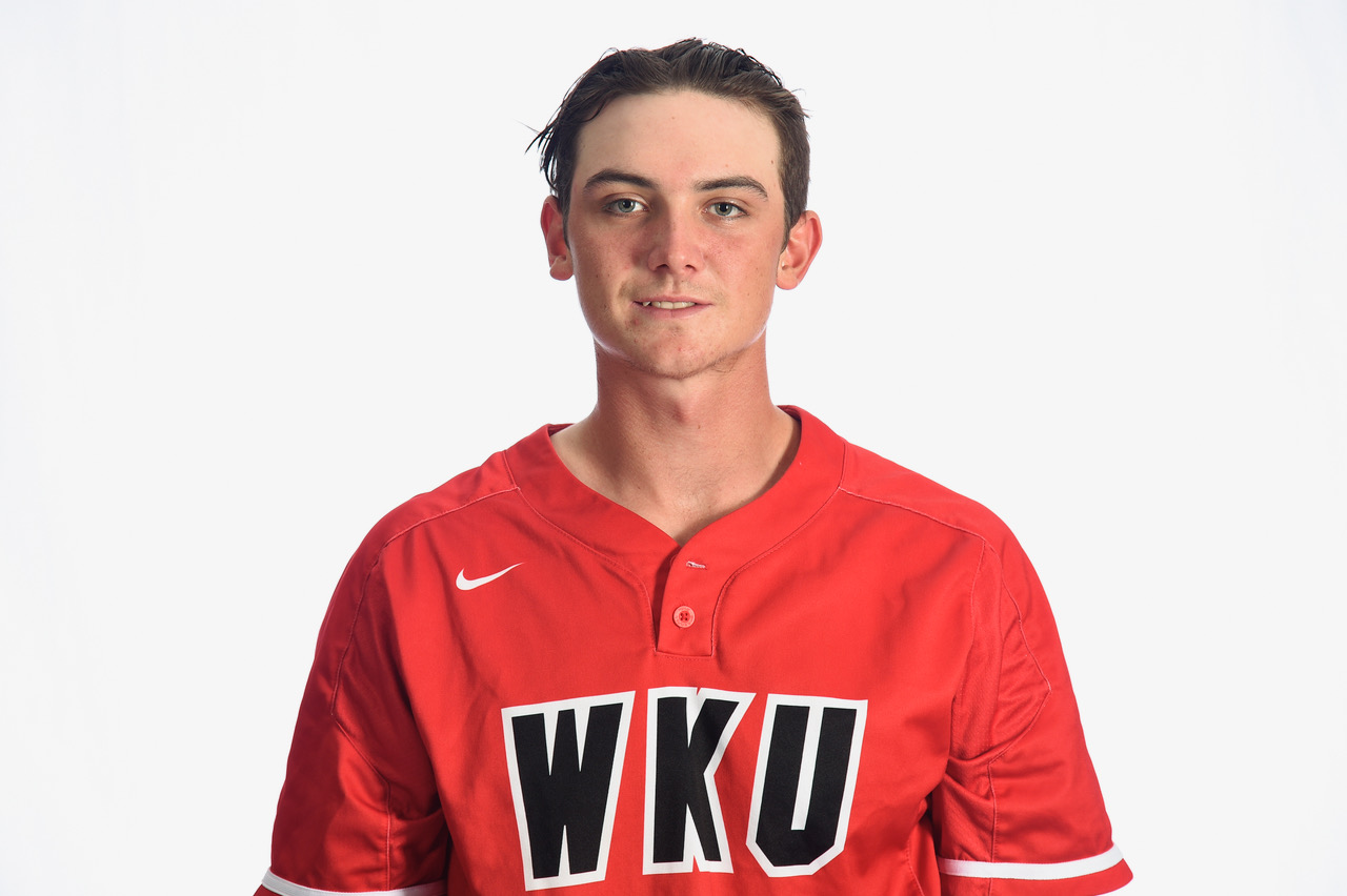Dartmouth Arrows alum Jake Sanford (Cole Harbour, N.S.) was selected in the third round of the MLB draft by the New York Yankees on Tuesday. Photo: WKU Athletics