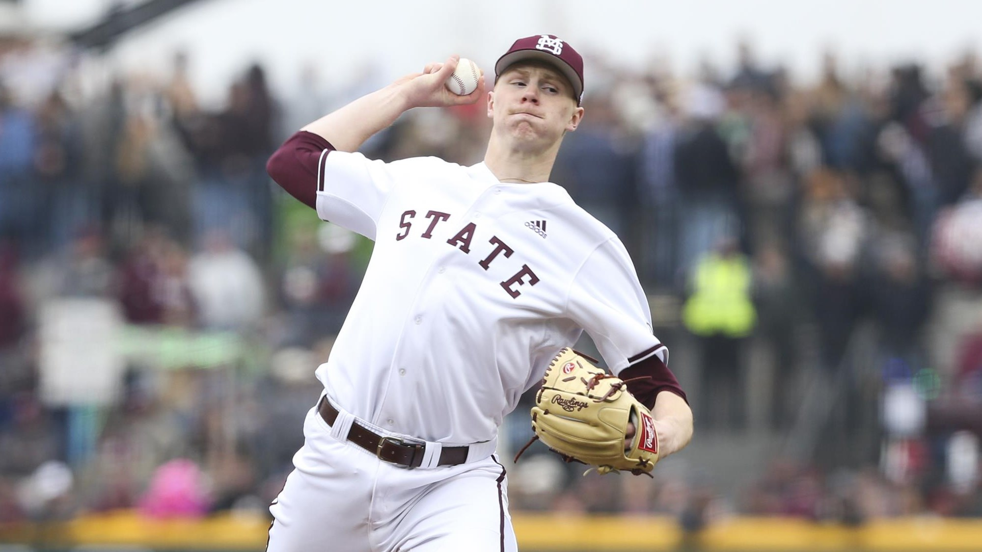 Great Lake Canadians and Junior National Team alum Eric Cerantola (Oakville, Ont.) was part of the Mississippi State team that defeated Stanford in the Starkville Super Regional. Photo: Mississippi State Athletics