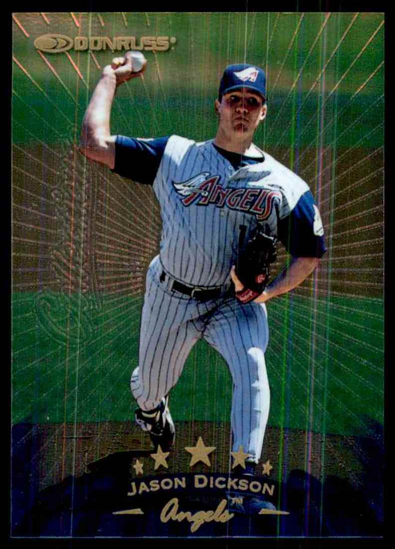 Northeastern Oklahoma A&M's RHP Jason Dickson (Chatham, NB) was the first name called in 1994