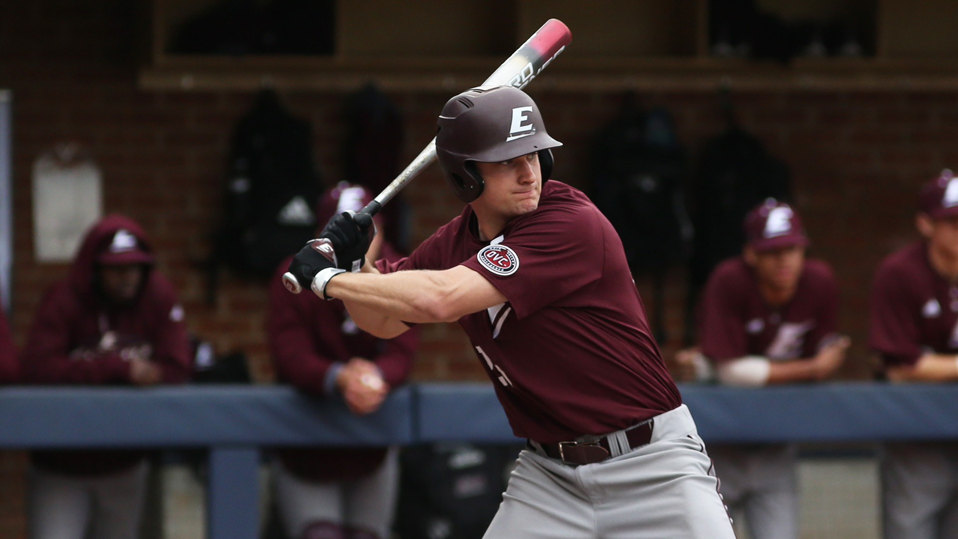 Former Ontario Blue Jay Nick Howie (Oakville, Ont.), who played for Eastern Kentucky, was named to the Google Cloud Academic All-American First Team. Photo: Eastern Kentucky Athletics