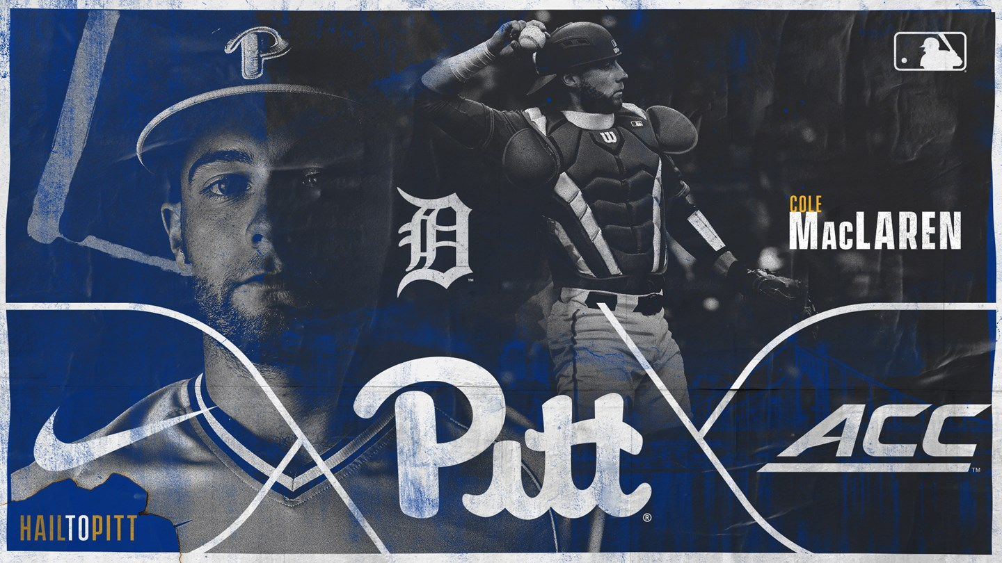 Okotoks Dawgs alum Cole MacLaren (Morell, P.E.I.) has signed a free agent contract with the Detroit Tigers. Photo: Pitt Athletics