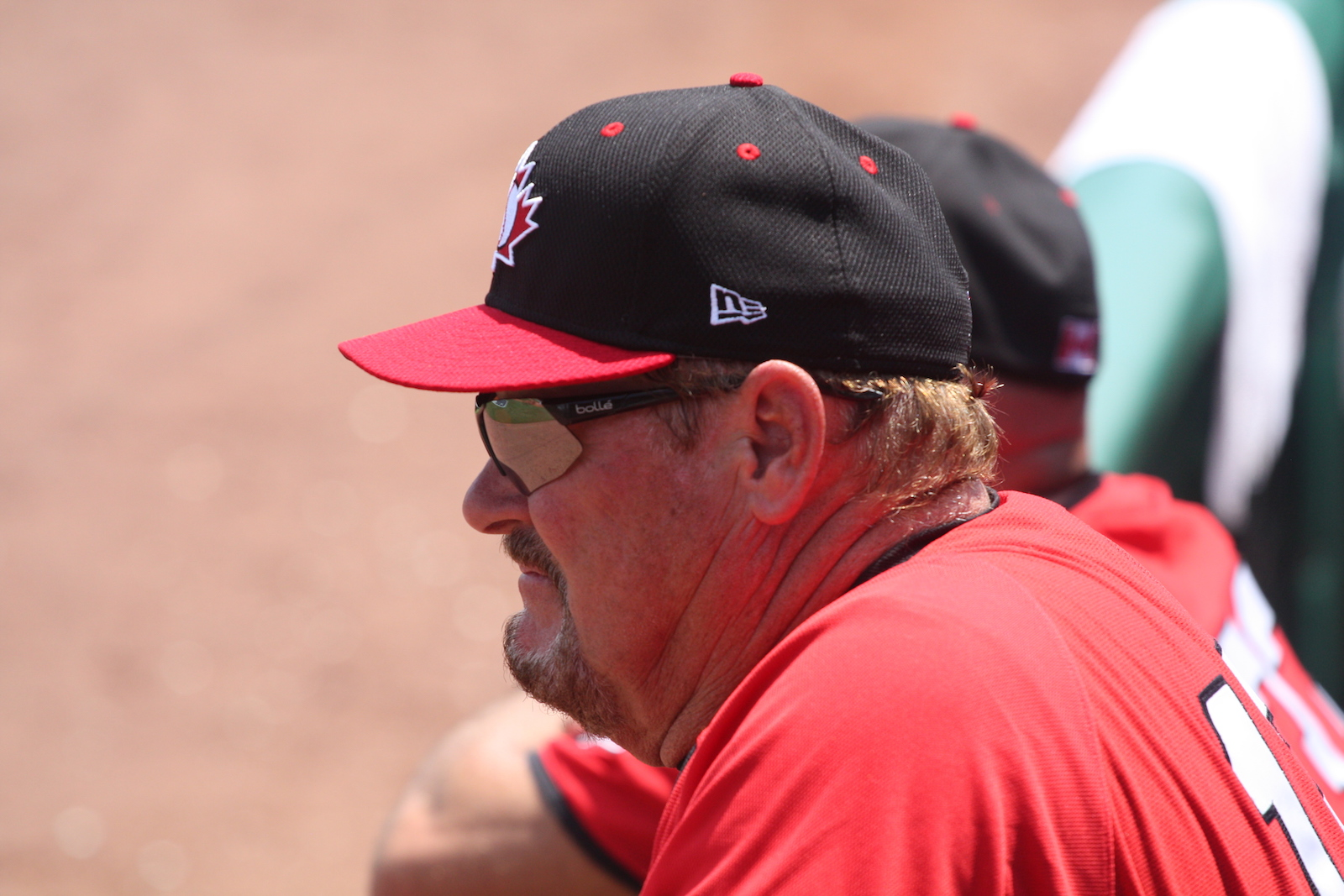 Manager Ernie Whitt, who is from Clinton Township, Mich. a Windsor suburb, is the long-time manager of Baseball Canada's national team. Photo: Baseball Canada