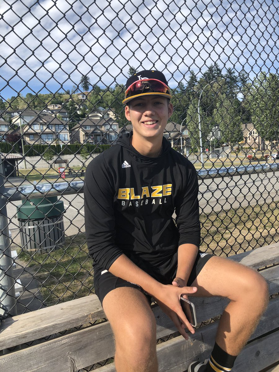 Besides being invited to the annual Tournament 12, RHP Theo Millas (Burnaby, BC) is headed to the Under Armour All- American at Wrigley Field July 20-23.