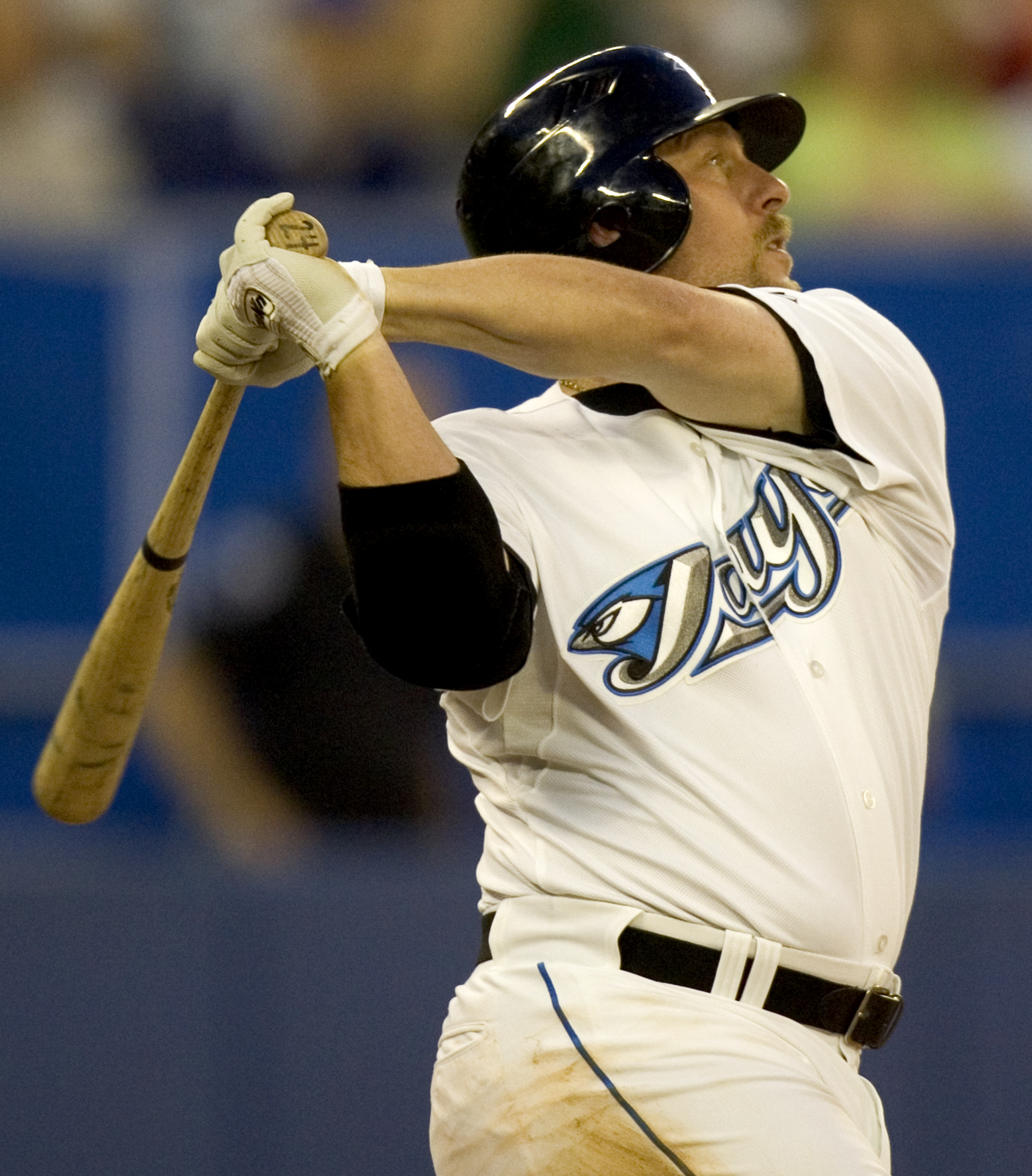 Canadian Baseball Hall of Fame inductee and Fredericton, N.B., native Matt Stairs hit 12 grand slams during his major league career, which is by far the most by a Canadian. Photo: Canadian Baseball Hall of Fame