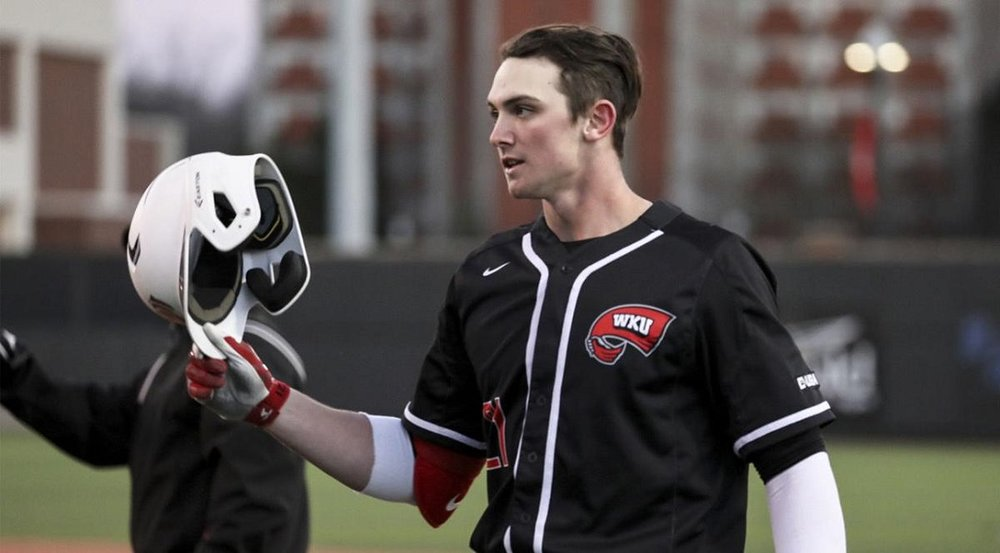 Jake Sanford (Cole Harbour, N.S.) put up historic numbers during his first collegiate season with the Western Kentucky Hilltoppers in 2019. Photo: WKU Athletics