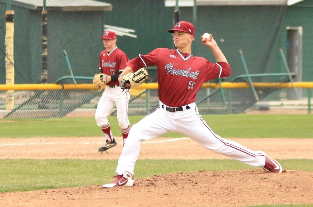 Vauxhall Academy Jets grad Adam Macko (Stony Plain, Alta.) was selected in the seventh round of the 2019 MLB draft by the Seattle Mariners. He's currently pitching for the AZL Mariners. Photo: Vauxhall Academy