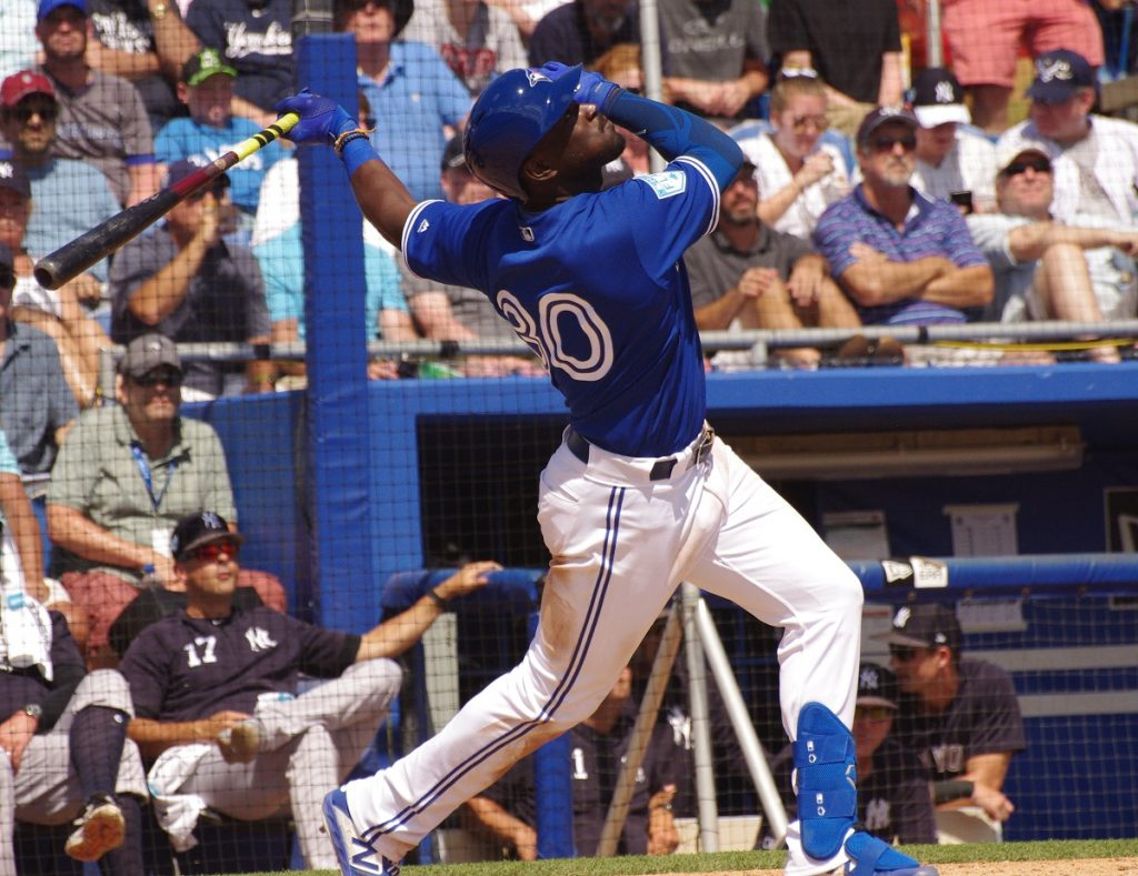 Anthony Alford, who has been recalled by the Toronto Blue Jays, will fight for playing time in the club's outfield in September. Photo: Jay Blue