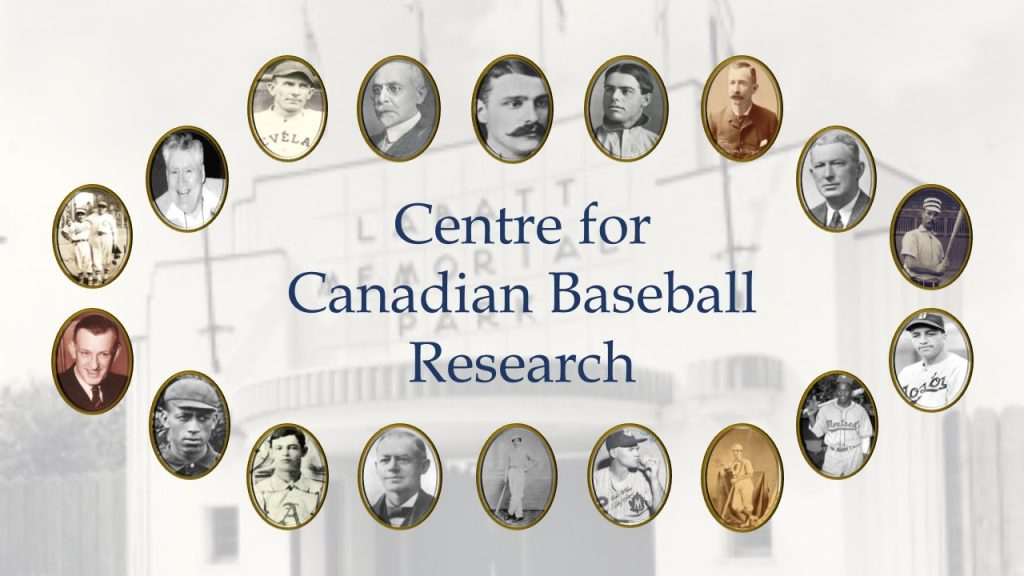 Photo: Centre for Canadian Baseball Research