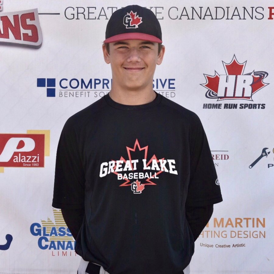 RHP Tanner Dawe (London, Ont.) of the Great Lake Canadians is carrying on a family tradition.