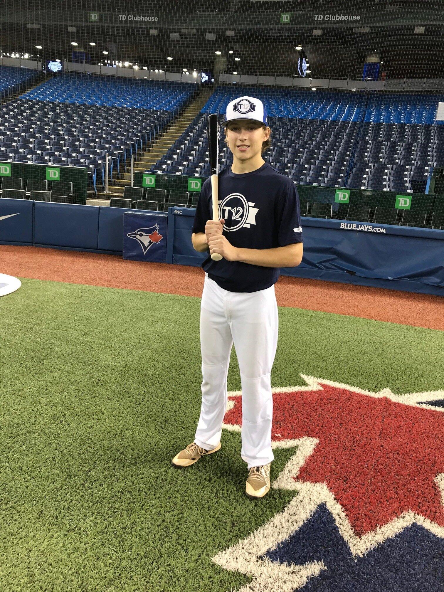 A strong showing at Tournament 12 has high schooler Matthew Grabmann (Cole Harbour, N.S.) on scouts' radar. Photo: J.P. Antonacci