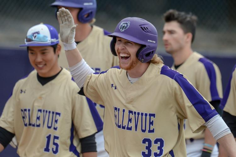 Okotoks Dawg grad 3B JT Patterson (Calgary, Alta.) led all Canucks with 24 homers in the spring for the Bellevue Bruins.