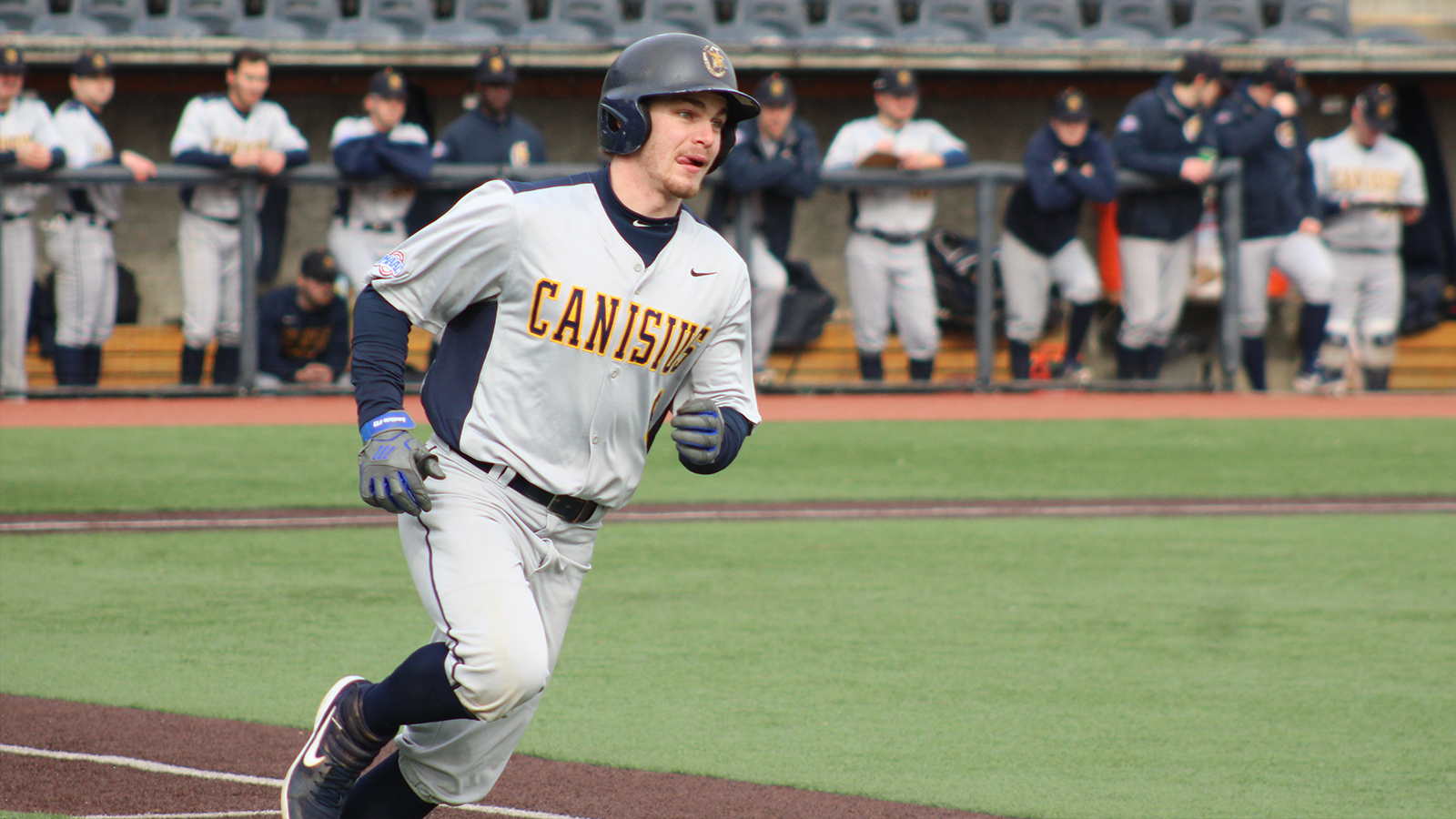 INF Conner Morro (Cheltenham, Ont.) had 48 hits for the Canisius Golden Griffs.