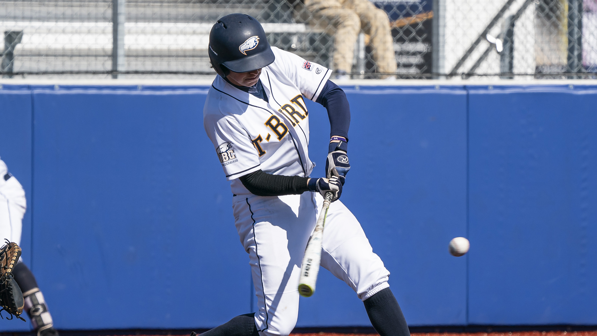 Former Whalley Chief Nolan Weger (Surrey, BC) had 48 hits for UBC. Photo: Wilson Wong.