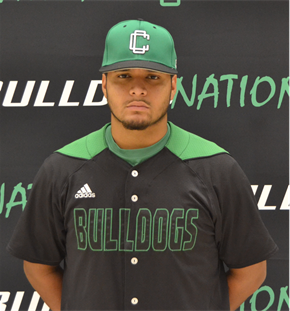 Former Ducs de Longueuil INF Tommy Reyes-Cruz (St-Michel, Que.), hit .351 for the Clarendon Bulldogs.