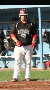 Ontario Outlaws 1B Ryan Bester (Cargill, Ont.) knocked in 27 runs for Macomb.
