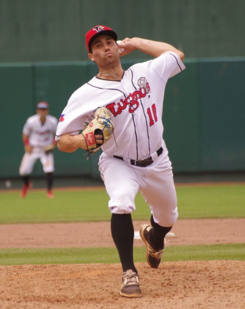 Left-handed reliever Marcus Reyes posted a 2.56 ERA in 39 appearances for the class-A Lansing Lugnuts in 2019. Photo: Jay Blue